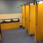 Toilet refurbishment in school